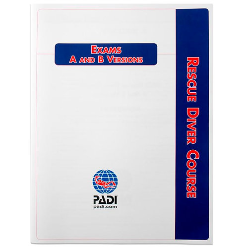 PADI Open Water/Rescue Diver/Divemaster Course Exam