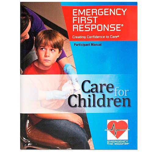 PADI Emergency First Response (EFR) Care for Children Manual