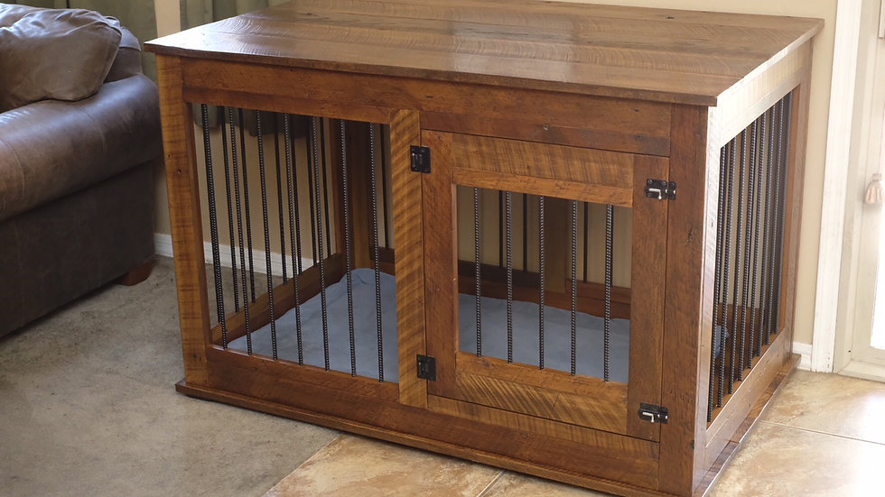 Reclaimed Barn Wood Kennels