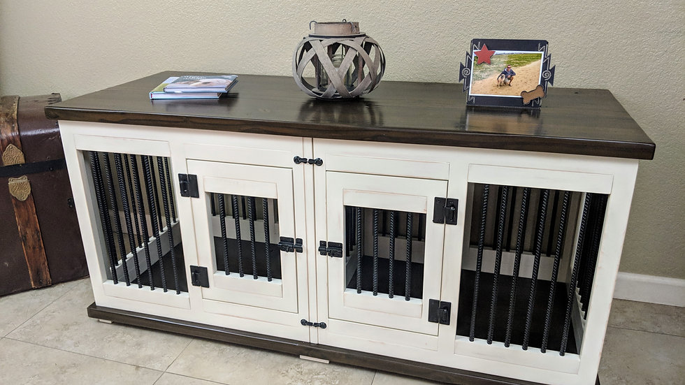 Painted Hardwood Kennels
