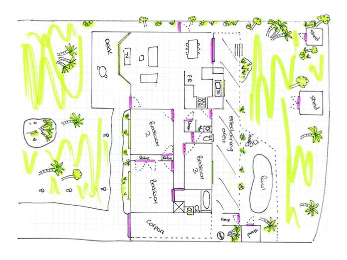 Floor Plan Redraw