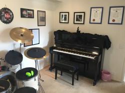 Our beautiful Wertheim upright piano