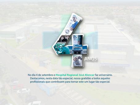 Hospital Regional: 4 anos de qualidade em assistência à saúde