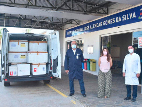 Doação de anestésico sedativo e bloqueador neuromuscular para intubação pelo Governo de Minas Gerais