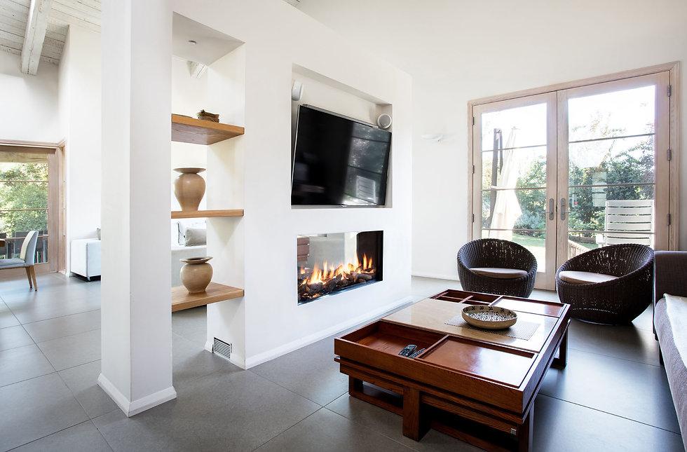 GEMINI plynová vložka AKOS ekologické moderní vytápění domu design interier