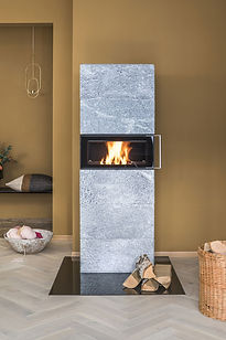 Domino Norsk Kleber mastové kamna na dře