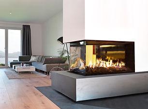 EROS plynová vložka AKOS ekologické moderní vytápění domu design interier