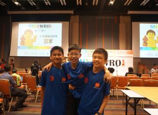 WRO2016香港機械人挑戰賽獲獎消息