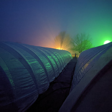 Tunnels Just before sunrise