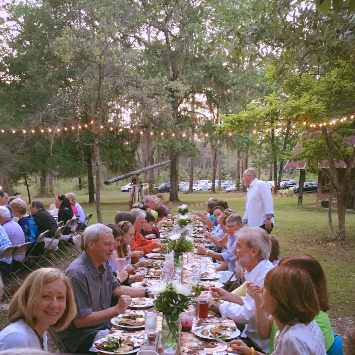 Farm to table supper at the orchard!