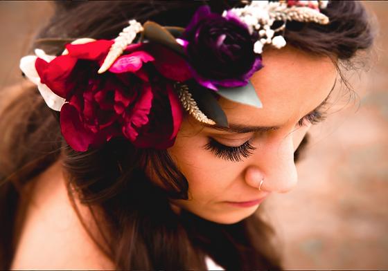 Boho Flower Crown A+A Wedding