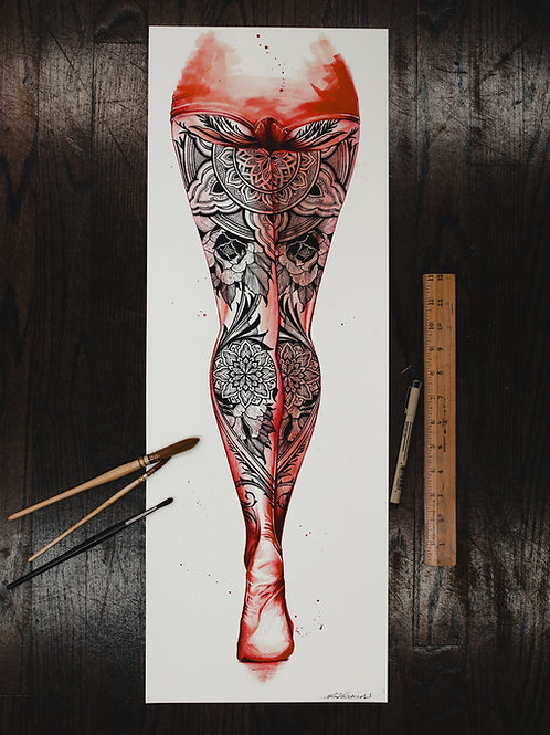 """Legs"" fine art print"
