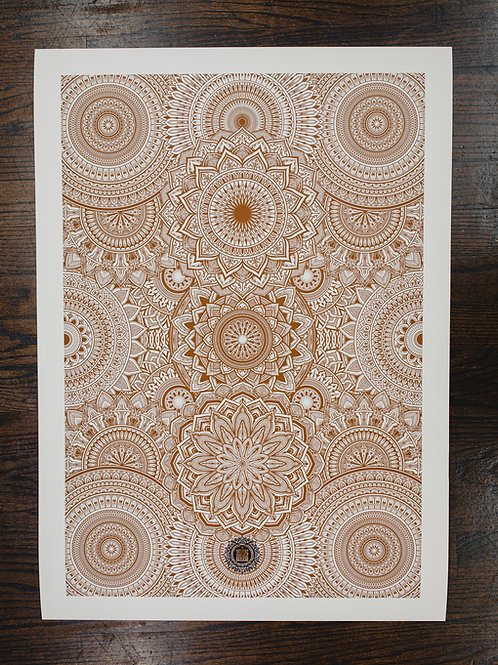 """Mandala NY 2020"" fine art print"