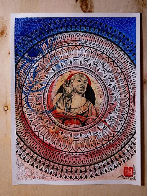 """Siddhartha"" original artwork 2020"