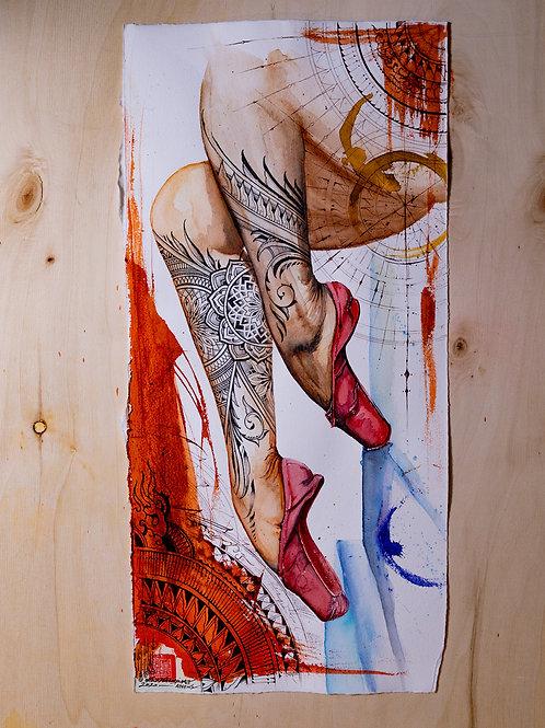 """Ballet"" original artwork 2020"