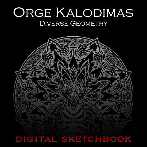 """""""Diverse Geometry"""" digital sketchbook"""