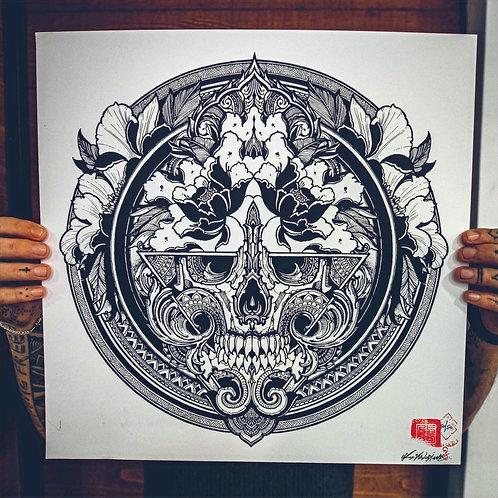 """Skull 2020"" Limited edition print"