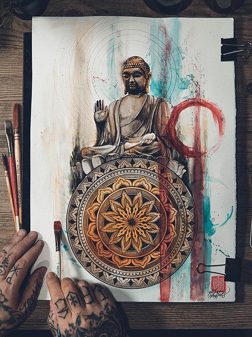 """""""buddha"""" original artwork 2020"""