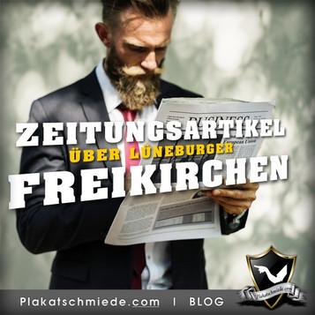 Zeitungsartikel Freikirchen