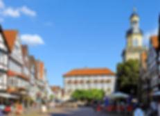 Kirche christliche Poster Marktplatz Fußgängerzone Schaukasten Plakat Shop