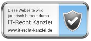 Logo_Juristisch_betreut_durch_ITRecht_Ka