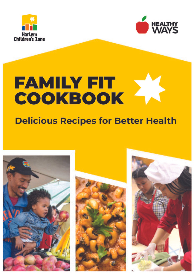 Harlem Children's Zone Cookbook Cover