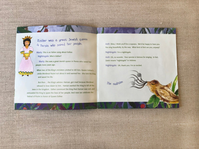 Zamir Chorale of Boston Booklet Inside Spread