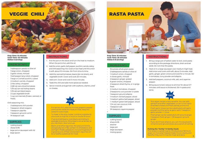 Harlem Children's Zone Cookbook Inside Spread