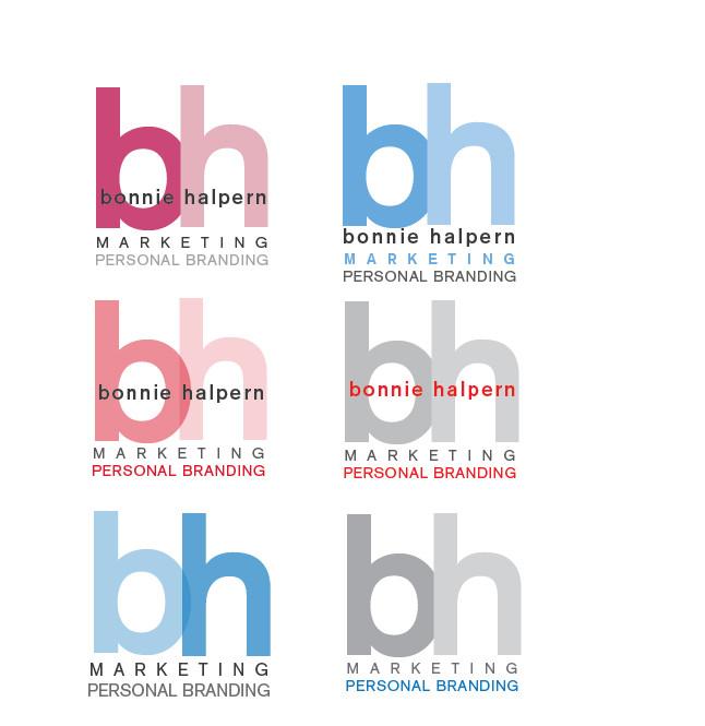 Bonnie Halpern Logo Design Color Exploration
