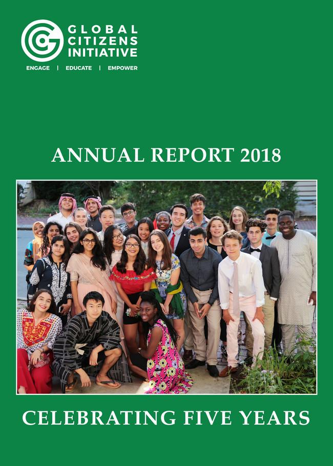 Global Citizens Initiative Annual Report Cover