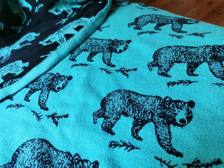 ROAR Les oursons Turquoise 6-os