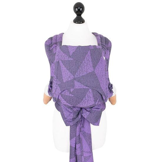 Fidella mei tai (bébi) Tangram Art -purple-