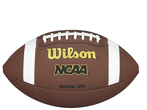 Autographed NCAA OFFICIAL  FOOTBALL SIZED