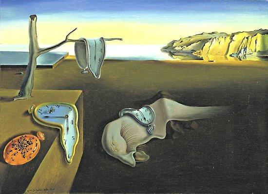 Salvador Dalí - Melting Clocks