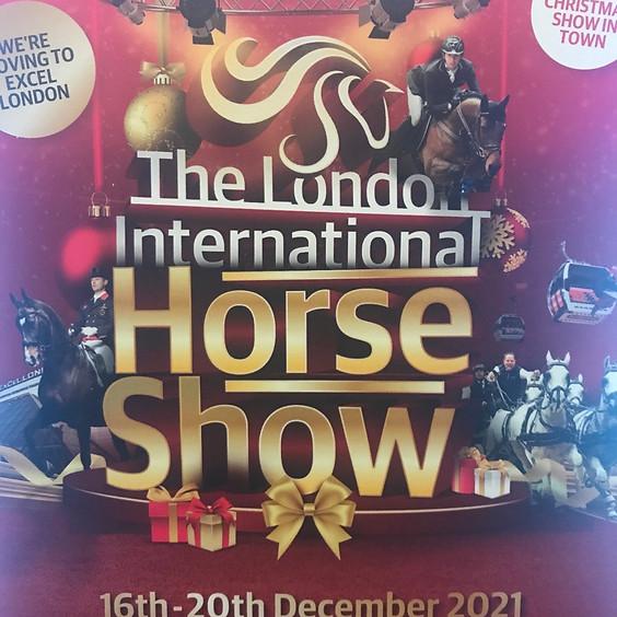 The London International horse show
