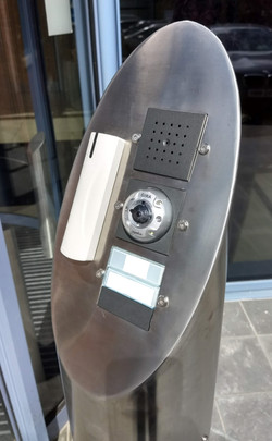 Gira Intercom System and Door Access