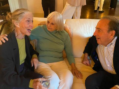 Susan Calhoun Moss, Connie Wiley and Dr. Jay Levy
