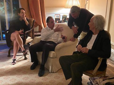 Vicki Rath, David Gotz, Jesse Kornbluth and Charlie Moss