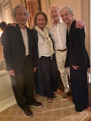 Charlie Moss, Priscilla Rattazzi, Peter Brown and Susan Calhoun Moss