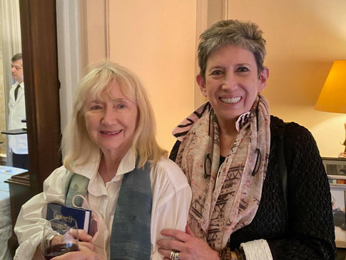 Gigi Benson and Beth DeWoody