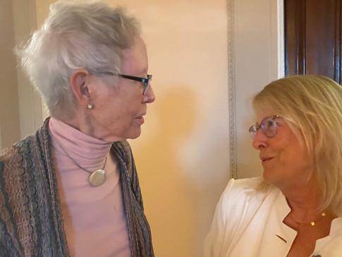 Sue Bynum and Liza Lerner