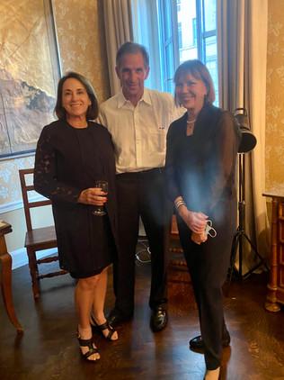 Vicki Rath, David Gotz and Judy Miller