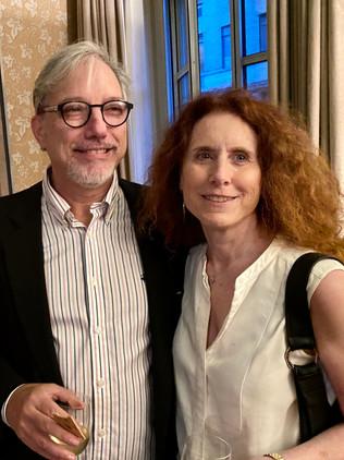 Eric Alterman and Laura Herscher