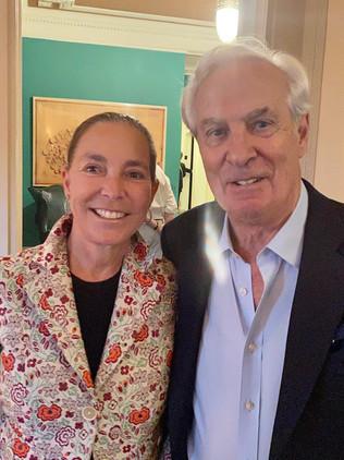 Sarah Simms Rosenthal and Peter Heyword