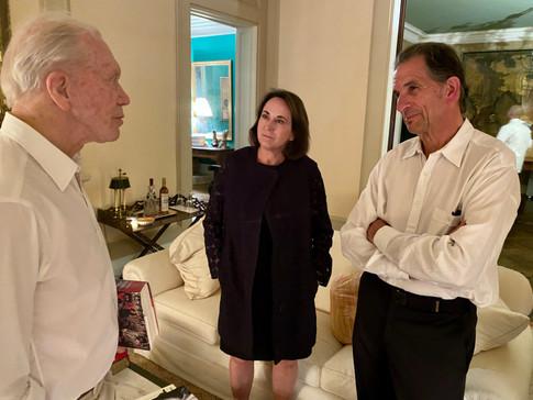Peter Brown, Vicki Rath and David Gotz
