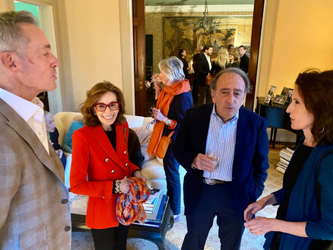 David Kleinberg, Sharon Levy, Dr. Jay Levy and Katrina Vanden Heuvel