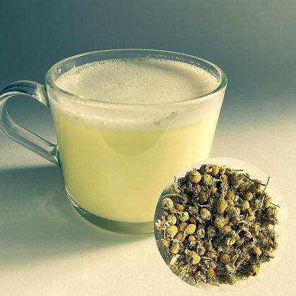Chamomile Flower Tea Latte