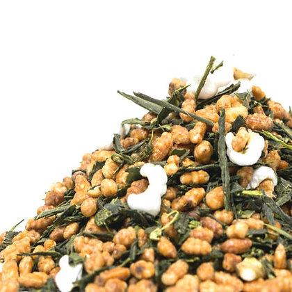 Genmaicha - green tea w/ roasted brown rice (hot)