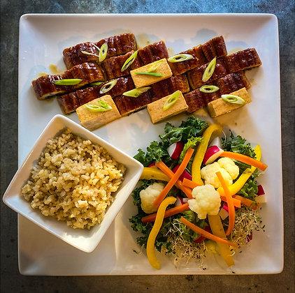 Grilled Eel and Tofu