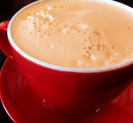Ginger Café au lait (hot)